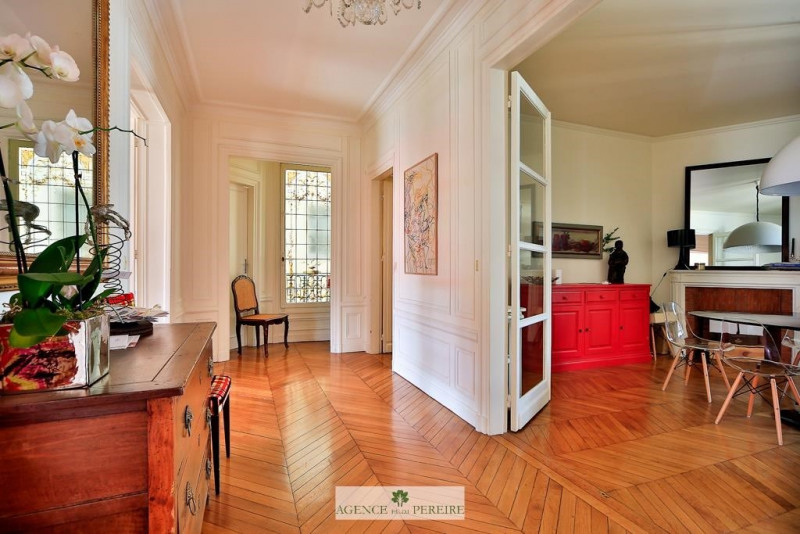 Deluxe sale apartment Paris 17ème 2 450 000€ - Picture 1