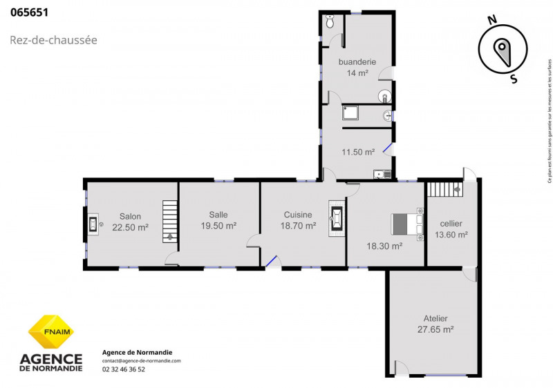 Vente maison / villa La ferté-frênel 65000€ - Photo 2