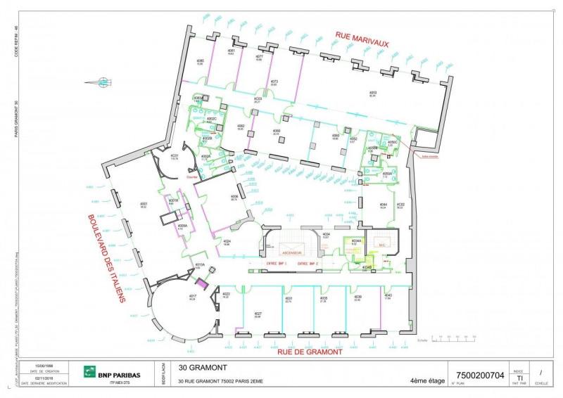Location bureau Paris 2ème 80050€ HT/HC - Photo 6