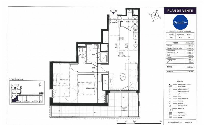 Sale apartment Lormont 232000€ - Picture 3