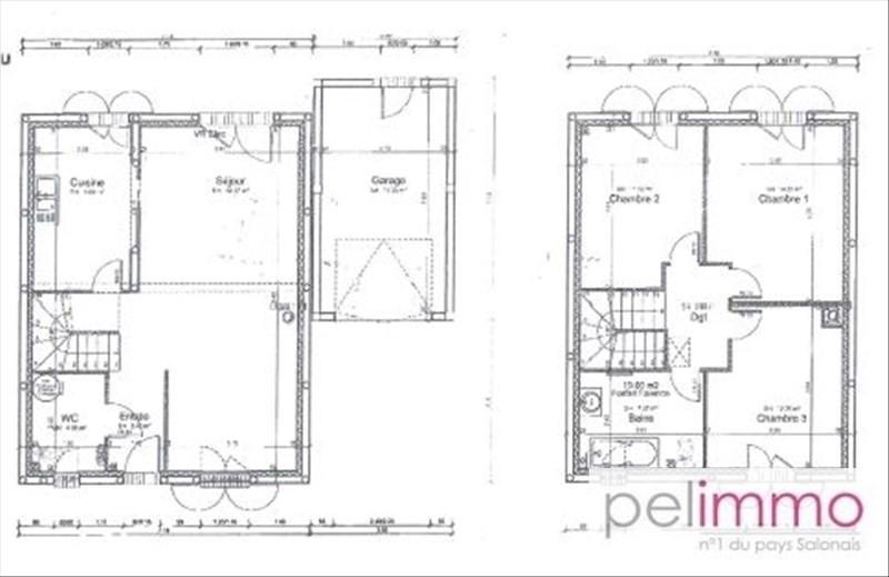 Sale house / villa Alleins 240000€ - Picture 8