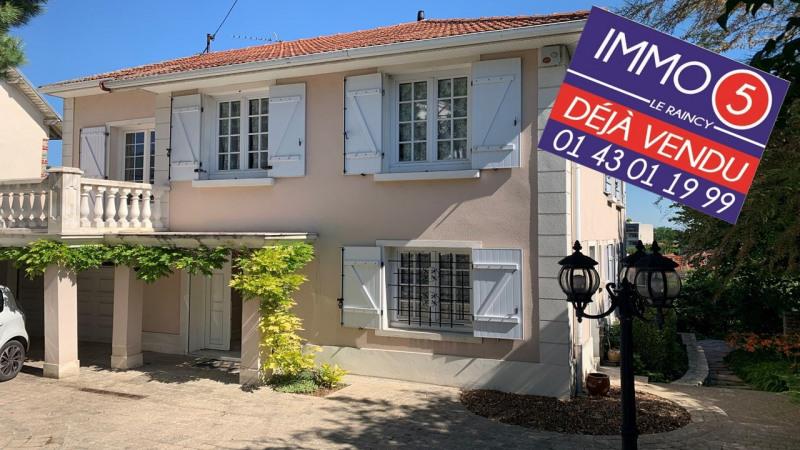 Sale house / villa Le raincy 595000€ - Picture 1