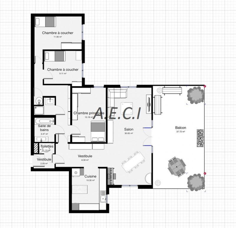 Vente appartement Asnieres sur seine 750000€ - Photo 10