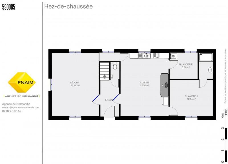 Location maison / villa Monnai 600€ CC - Photo 2