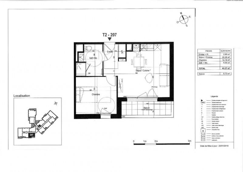 Venta  apartamento La rochelle 194000€ - Fotografía 3