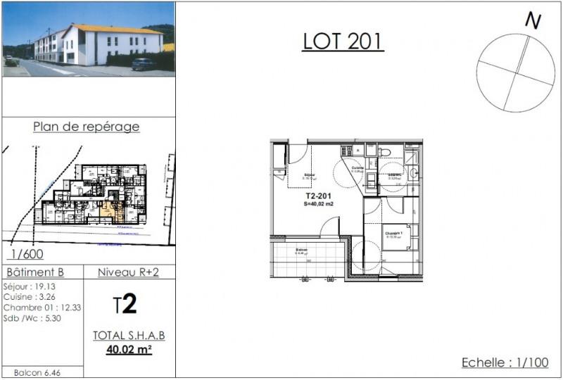 Vente appartement Nivolas vermelle 117166€ - Photo 2