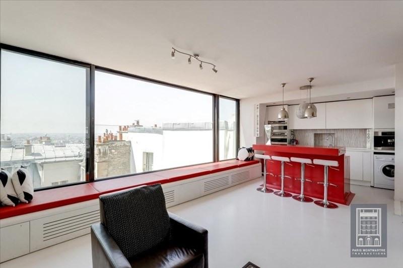 Vente de prestige appartement Paris 18ème 1350000€ - Photo 3