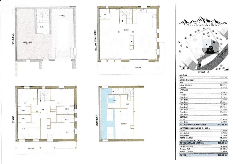 Deluxe sale house / villa Praz sur arly 1200000€ - Picture 18