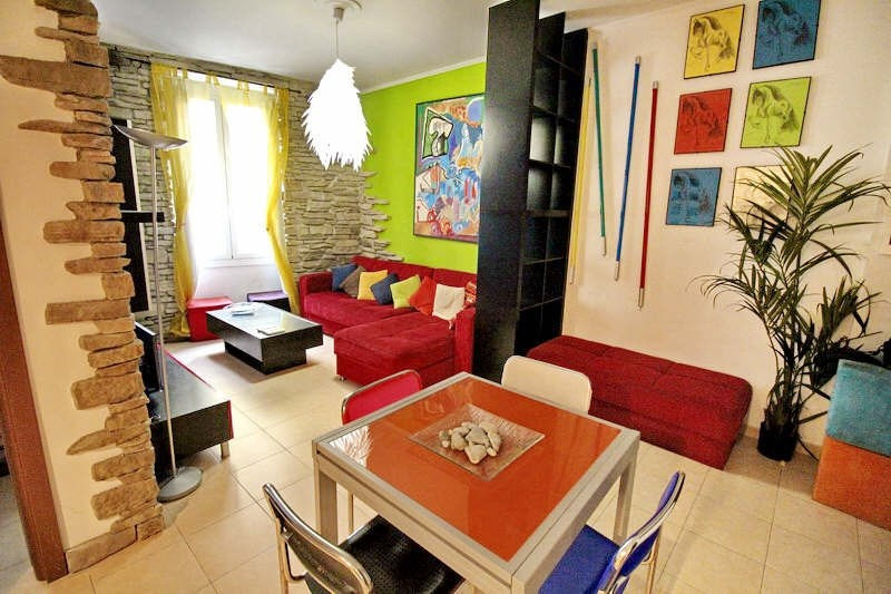 Rental apartment Nice 1100€ CC - Picture 1