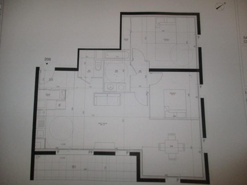Revenda apartamento Hanches 208000€ - Fotografia 2