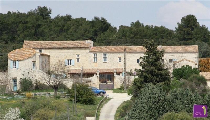Immobile residenziali di prestigio casa Uzes 1590000€ - Fotografia 1
