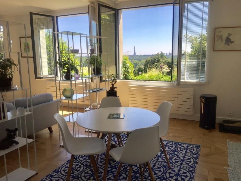 Deluxe sale apartment Saint-cloud 980000€ - Picture 1