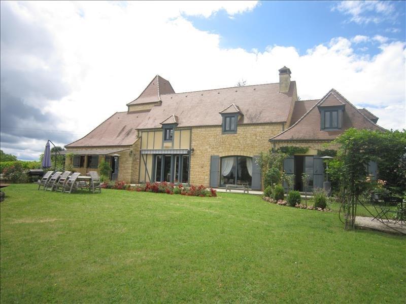 Deluxe sale house / villa Vitrac 924000€ - Picture 1