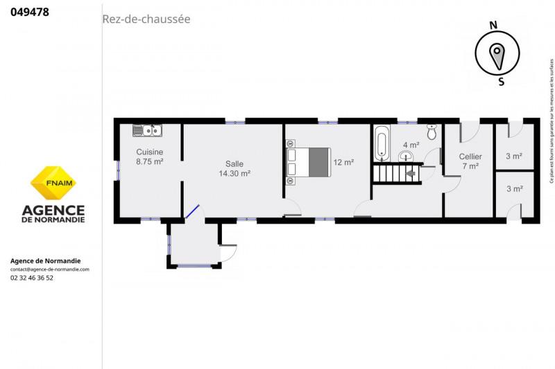 Vente maison / villa Montreuil-l'argillé 49000€ - Photo 6