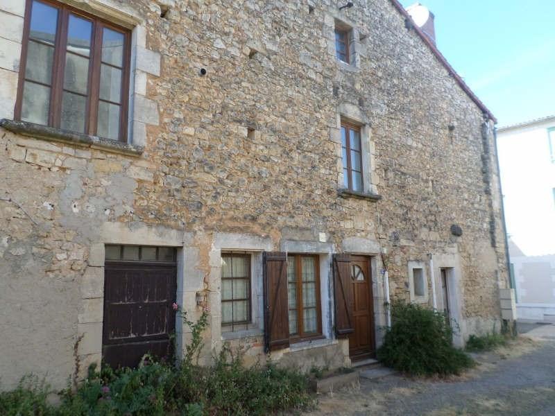 Produit d'investissement immeuble Lussac les chateaux 80500€ - Photo 3