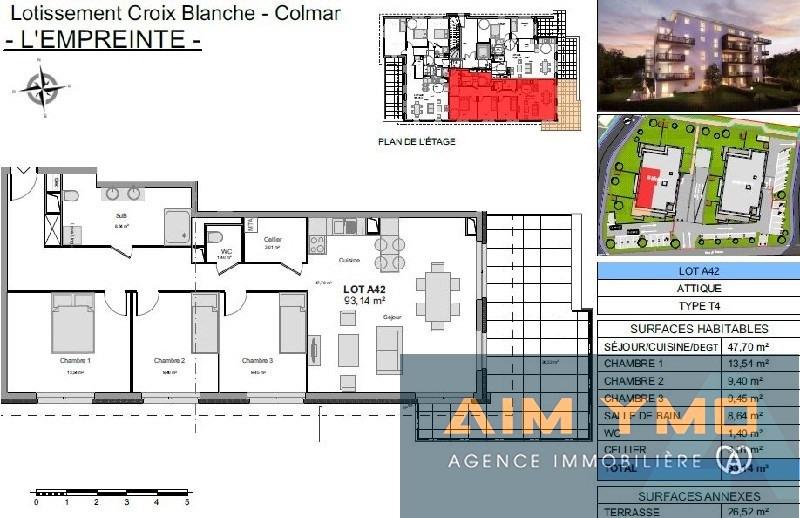 Verkoop  appartement Colmar 280000€ - Foto 2