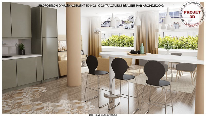 Appartement fouesnant - 3 pièce (s) - 68 m²