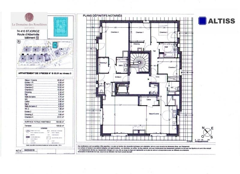 Vente de prestige appartement St jorioz 770000€ - Photo 2