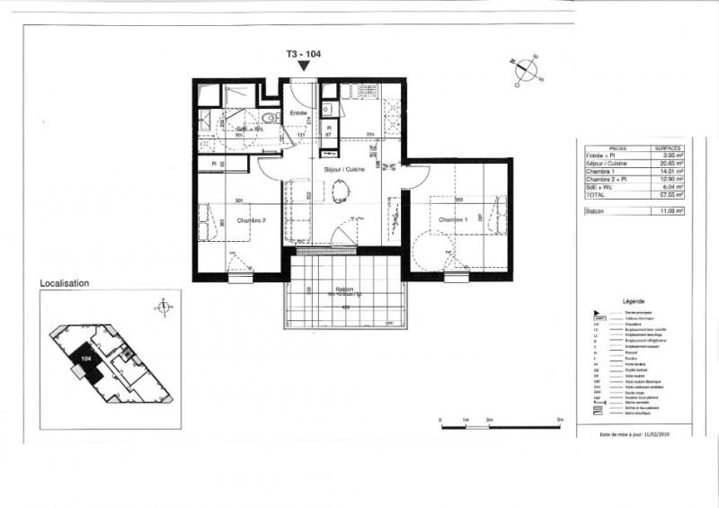 Vente appartement Tours 207000€ - Photo 5