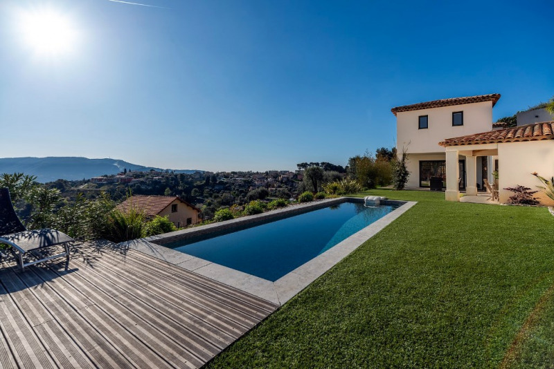 Vente de prestige maison / villa Falicon 1197000€ - Photo 2