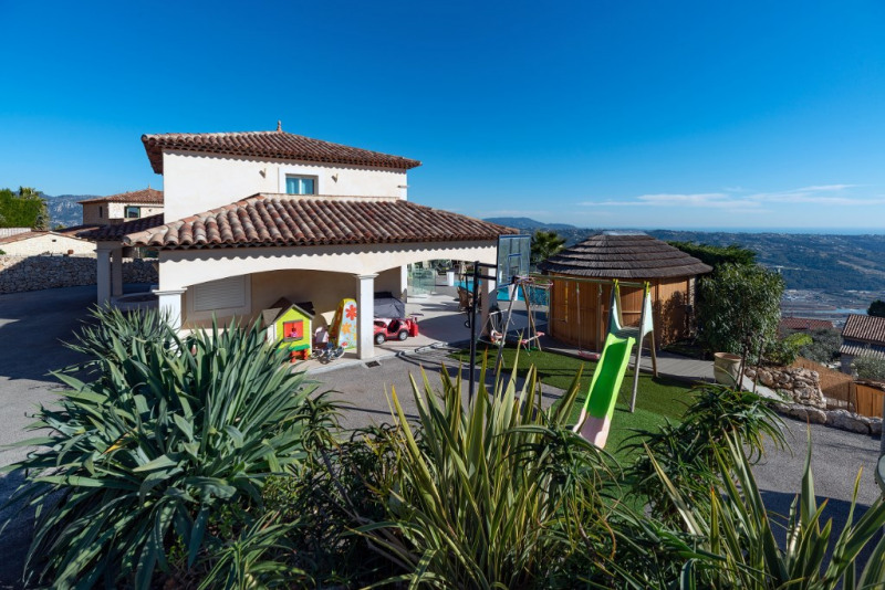 Immobile residenziali di prestigio casa Gattieres 1155000€ - Fotografia 6
