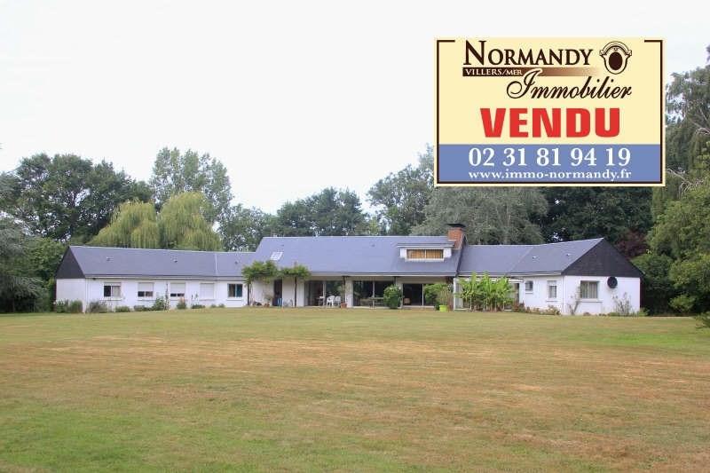 Vente de prestige maison / villa Gonneville sur mer 582000€ - Photo 1