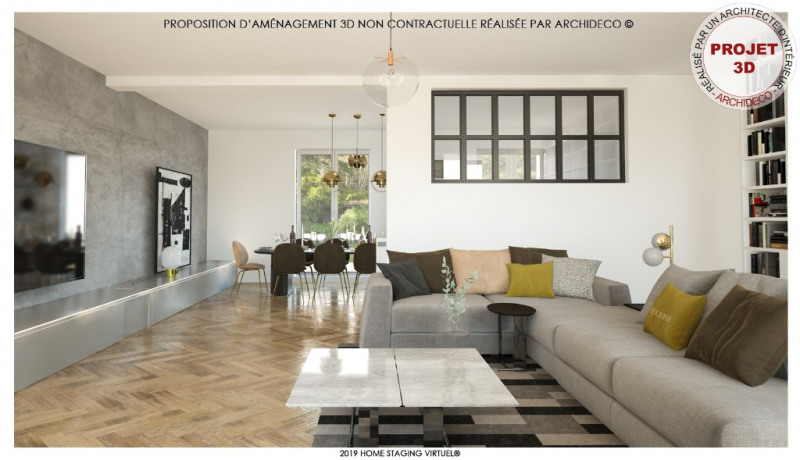 Deluxe sale house / villa Bron 574900€ - Picture 1