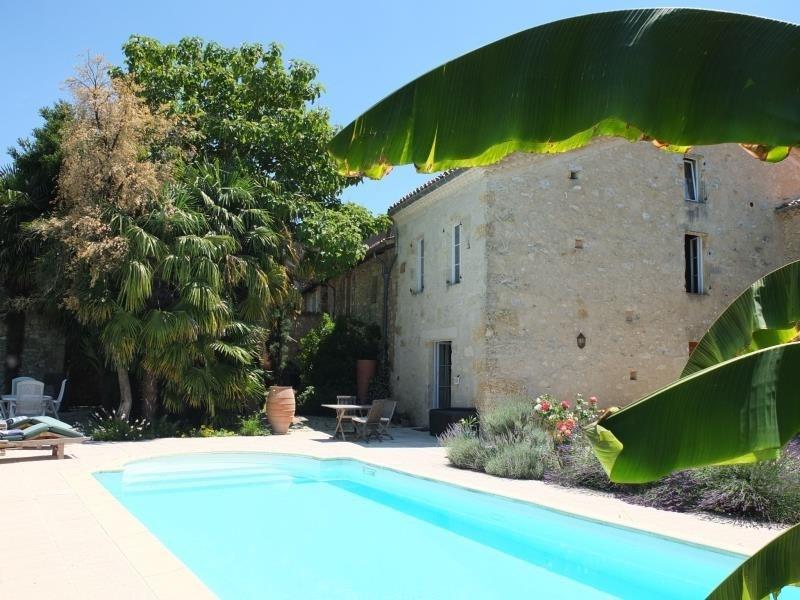 Sale house / villa Fleurance 399000€ - Picture 1
