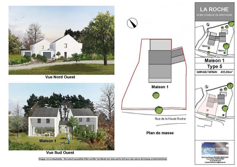 Vente maison / villa Vigneux de bretagne 368900€ - Photo 2