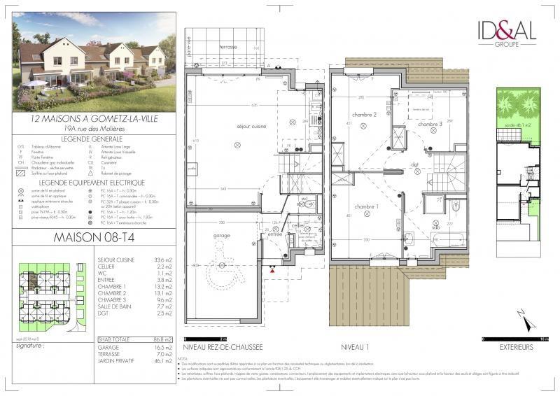 Sale house / villa Gometz la ville 362040€ - Picture 1