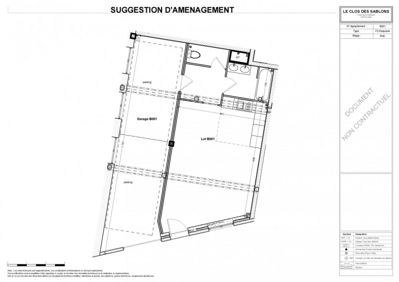 Vente appartement Linas 130650€ - Photo 5