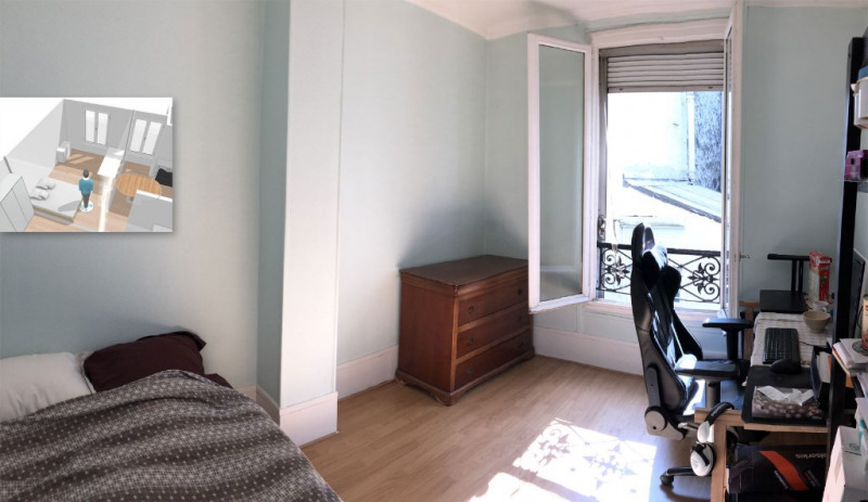 Vente appartement Paris 18ème 435 000€ - Photo 1