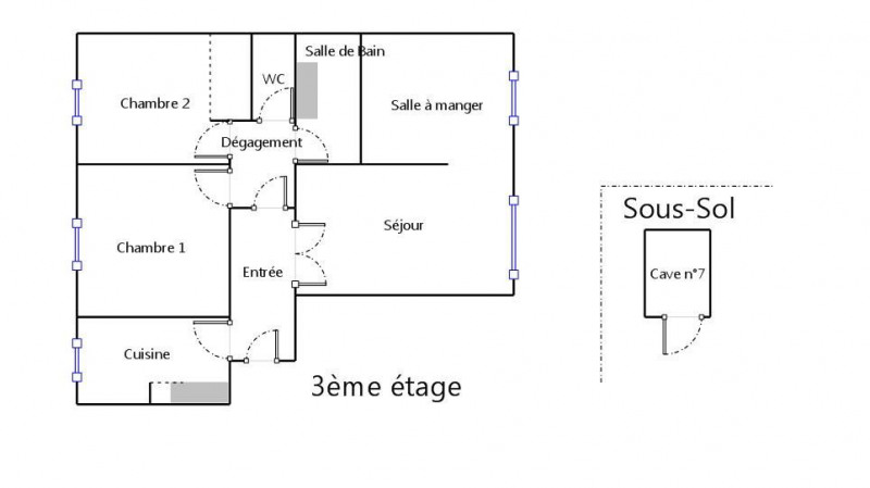 Vente appartement Enghien-les-bains 286000€ - Photo 8