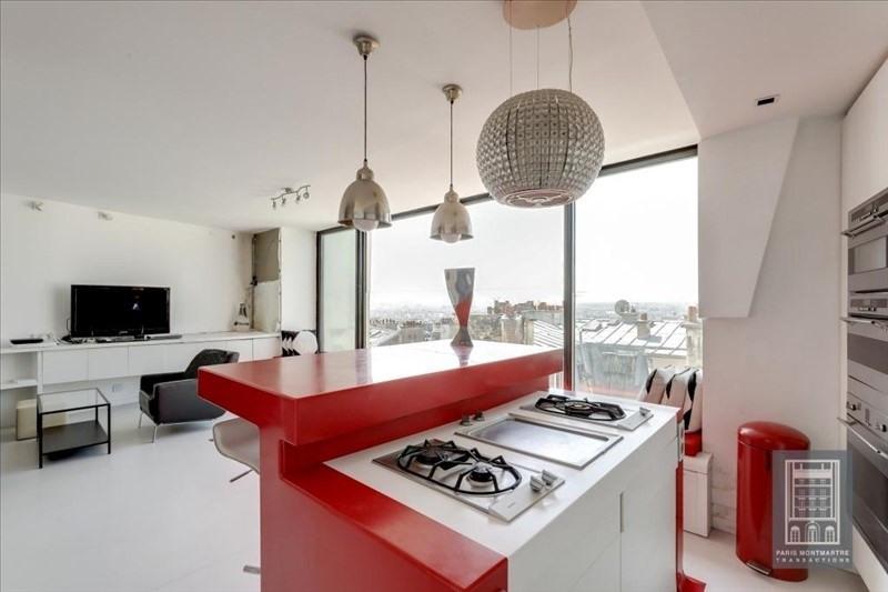 Vente de prestige appartement Paris 18ème 1350000€ - Photo 4