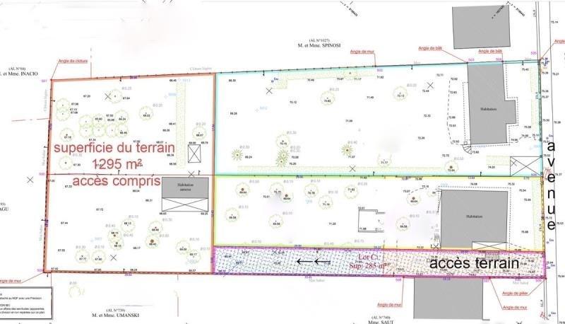 Verkoop  stukken grond Triel sur seine 418000€ - Foto 3