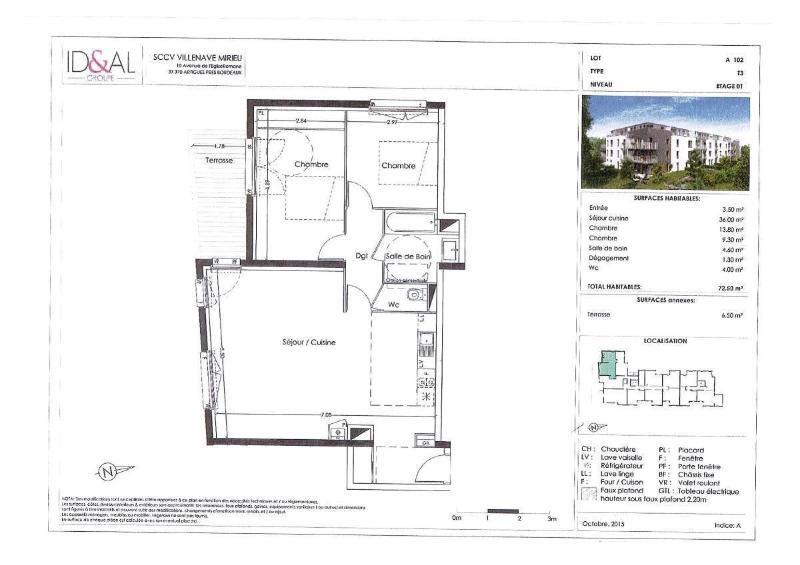 Location appartement Villenave d'ornon 780€ CC - Photo 4
