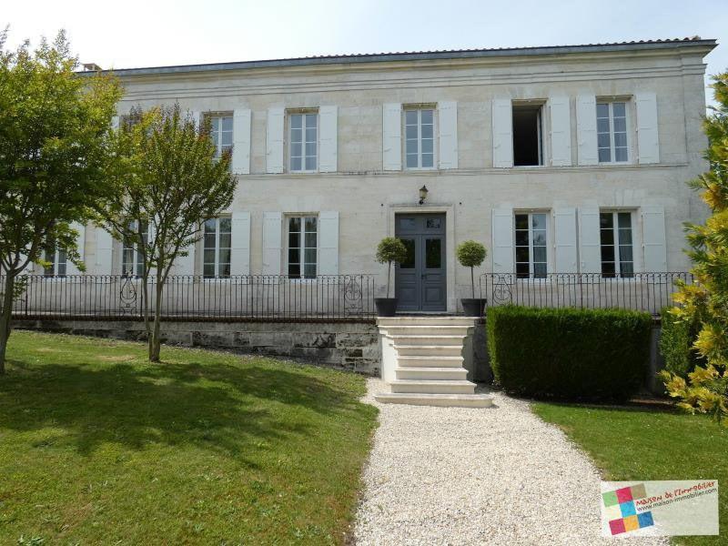 Deluxe sale house / villa Sud cognac 640500€ - Picture 11