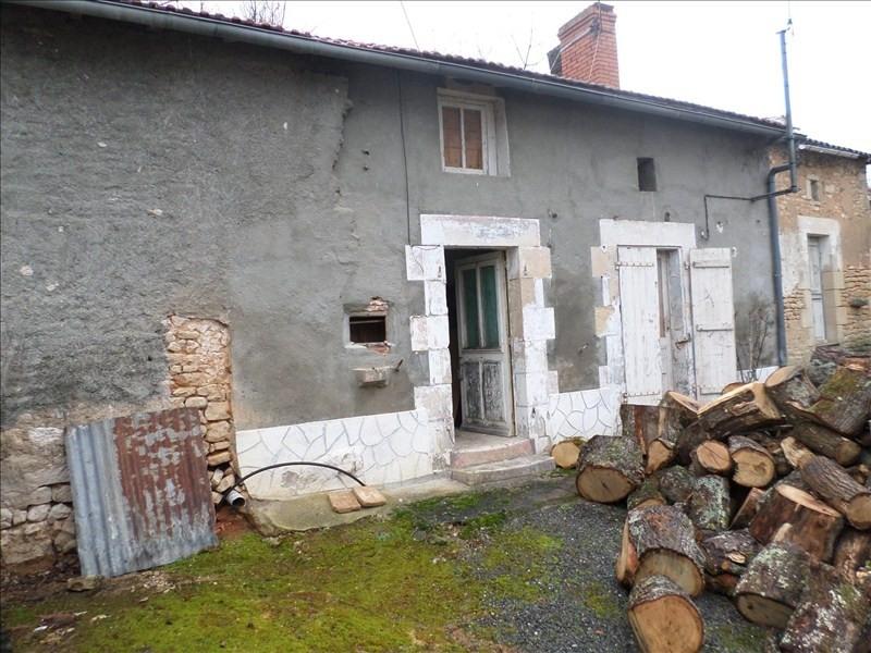 Vente maison / villa Lussac les chateaux 24000€ - Photo 4