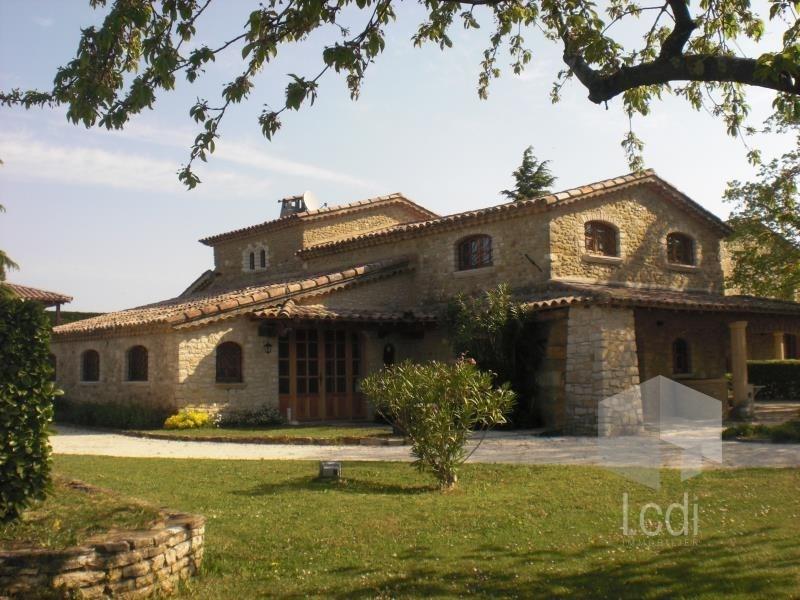 Vente de prestige maison / villa La bégude-de-mazenc 1495000€ - Photo 1